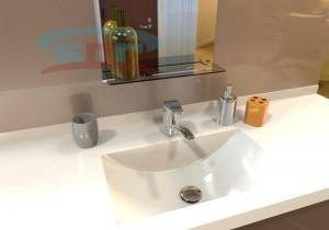 Умывальник для ванной из искусственного камня