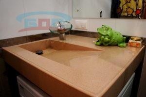 Раковина из искусственного камня UB для умывальника в ванну