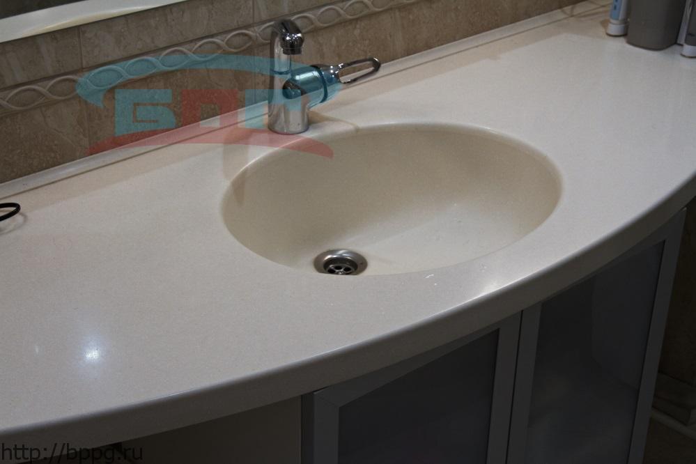 Накладная мойка в ванную по акции