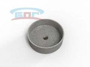 Раковина UС500с Умывальник круглый Монтаж: подстольный или накладной Размеры: диаметр чаши: 450мм. Глубина чаши: 140мм.