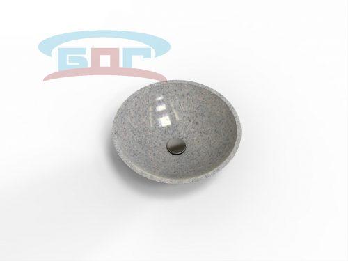 Раковина UDK450 Умывальник круглый Диаметр чаши: 309 мм. Глубина чаши: 130 мм. Минимальная ширина мебельного модуля: 350 мм.