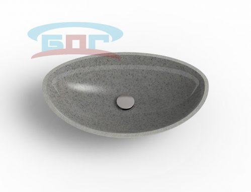 Раковина UDP600-R Умывальник полукруглый диаметр чаши: 360х566 мм. глубина чаши: 125 мм. Минимальная ширина мебельного модуля: 600 мм.