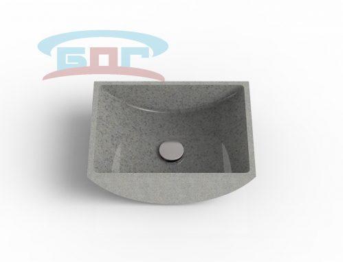 Раковина UK450-R Умывальник прямоугольный Размеры: 300-350x400мм глубина чаши: 120 мм. Минимальная ширина мебельного модуля: 450 мм.