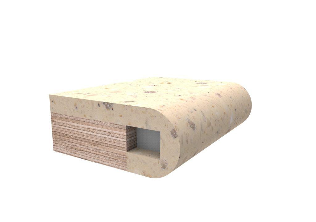 Кромка радиусная для изделий из искусственного камня