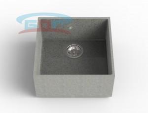Мойка из искусственного камня с артикулом MP-10 Размеры чаши: Х=от 300-700мм, Y=от 300-700мм Глубина чаши: 205мм Сливное отверстие по выбору