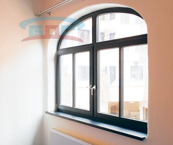 Производство подоконников из искусственного акрила под нестандартные окна