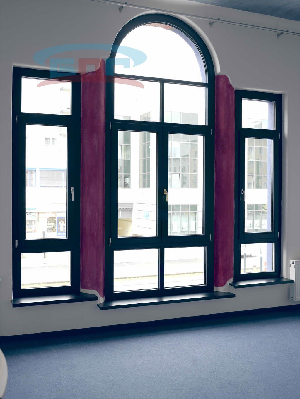 Производство подоконников из акрилового искусственного материала под большие окна