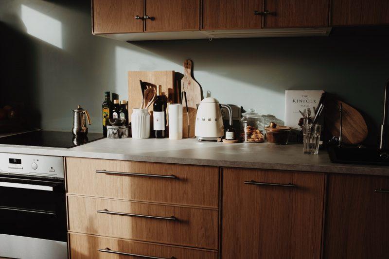 Столешница Brown для кухни без мойки