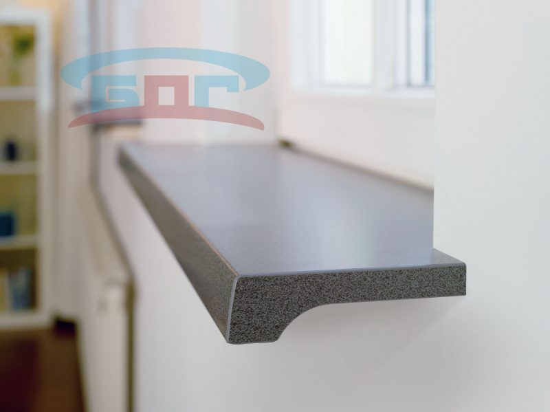 Производство подоконников из акрилового искусственного материала от фабрики