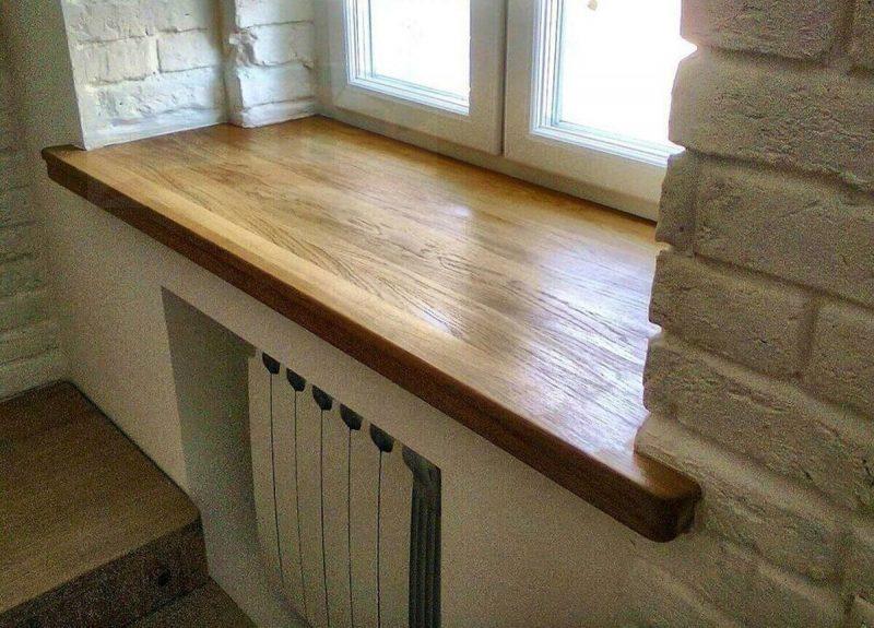 Деревянный подоконник купить