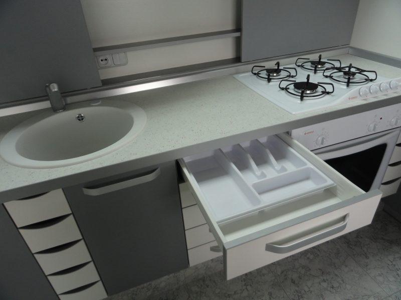 Акриловая столешница для ванной комнаты Akrilika Design DA 064
