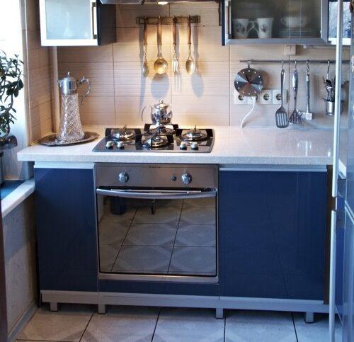 Подоконник-столешница для маленькой - кухня