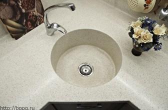 Кухонная мойка из камня «круглая»