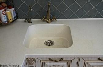 Кухонная мойка из камня «классическая»