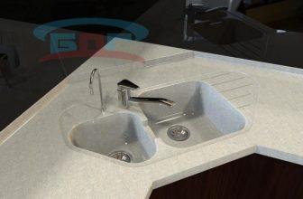 Чем чистить каменную мойку на кухне